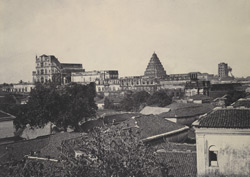 The Palace and interjacent part of the town [Thanjavur]